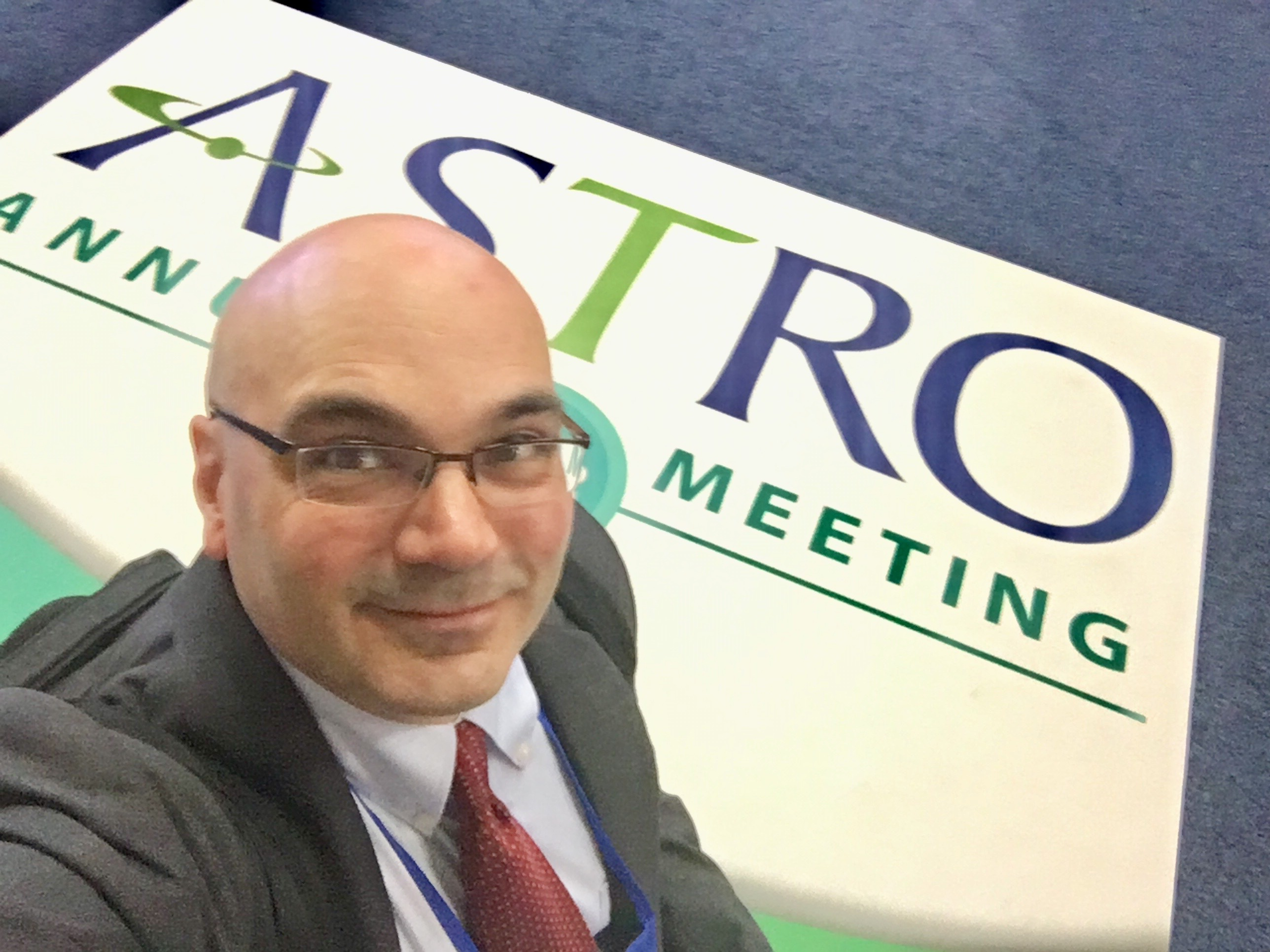 ITN Editor Dave Fornell at the ASTRO 2018 radiation oncology meeting.