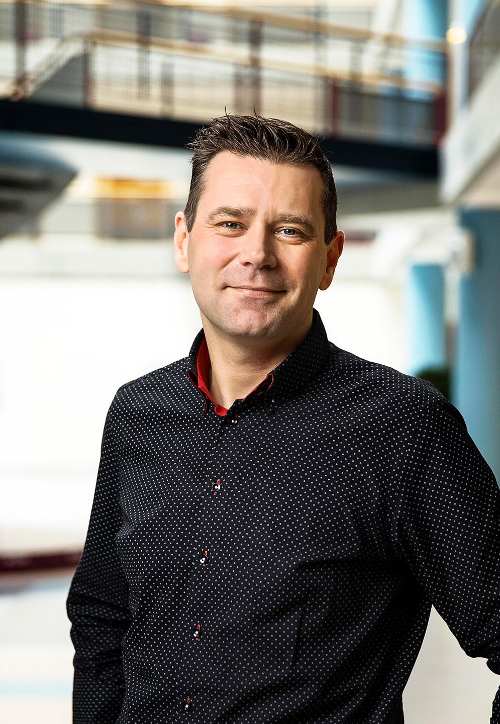 Ricardo Franke, staff advisor patient logistics at UMCG and coordinator for the RayCare implementation