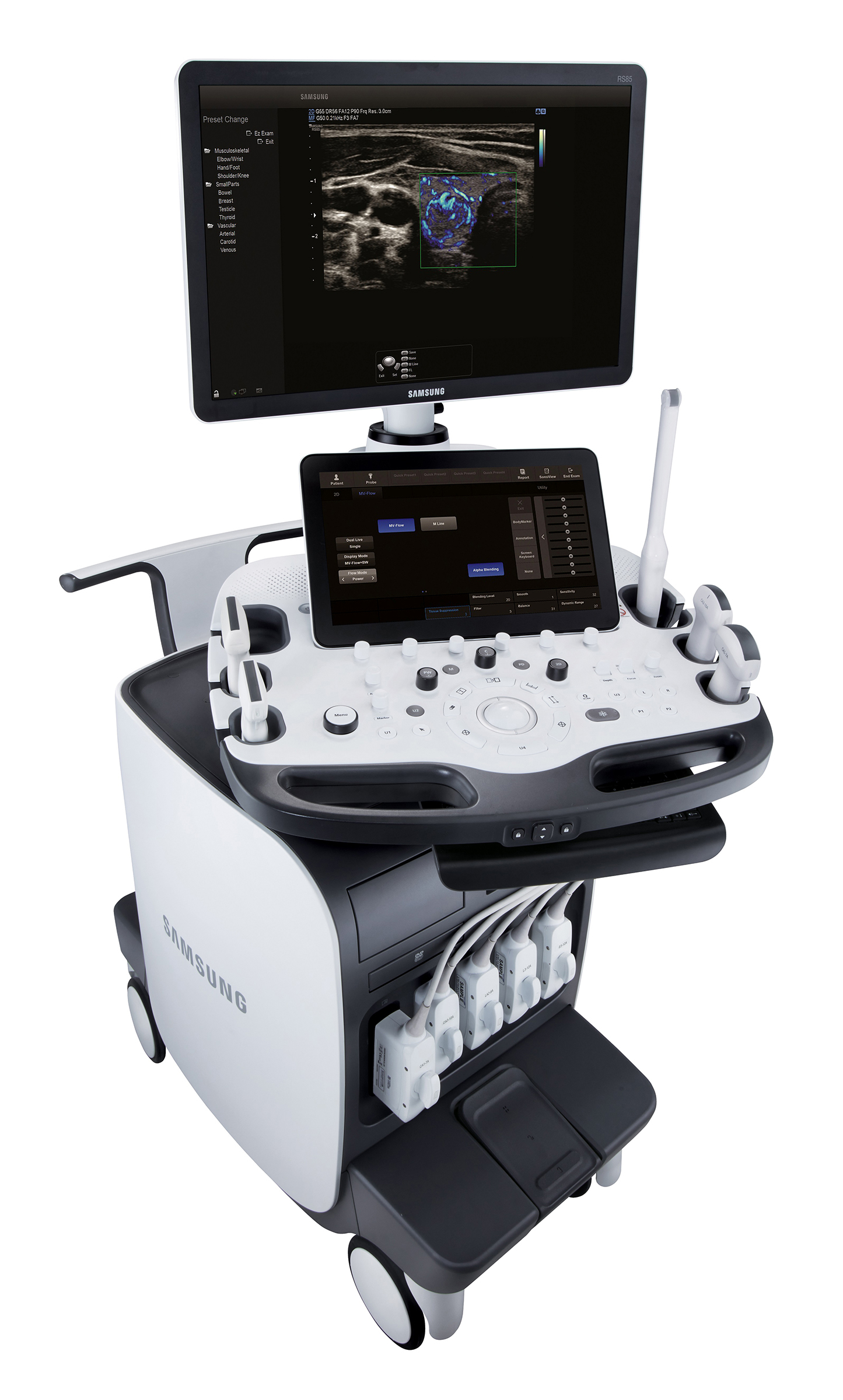 Samsung Receives Fda Clearance For Premium Ultrasound