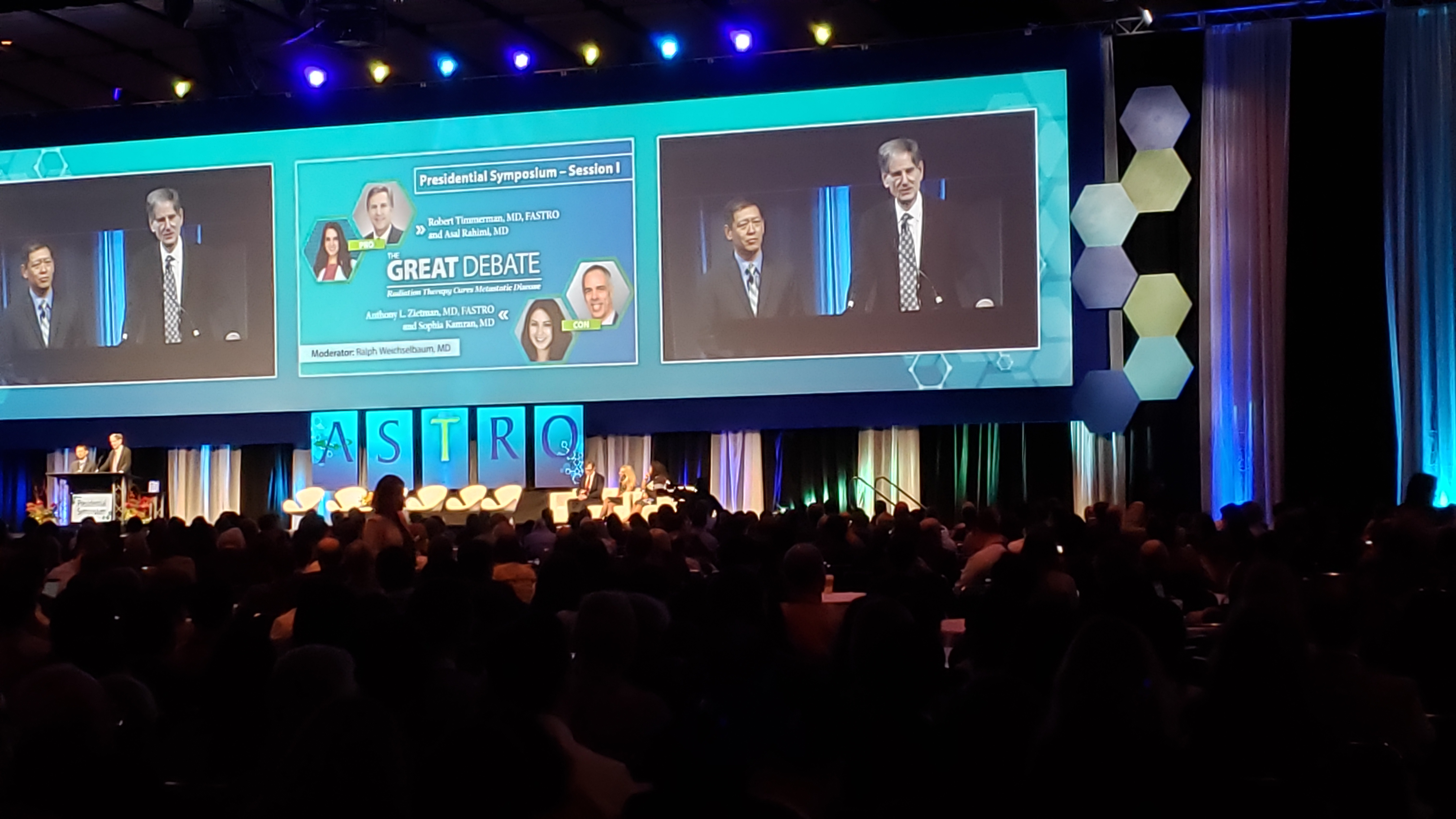 "A ""Great Debate"" at the end of the general session pitted community heavyweights against each other."