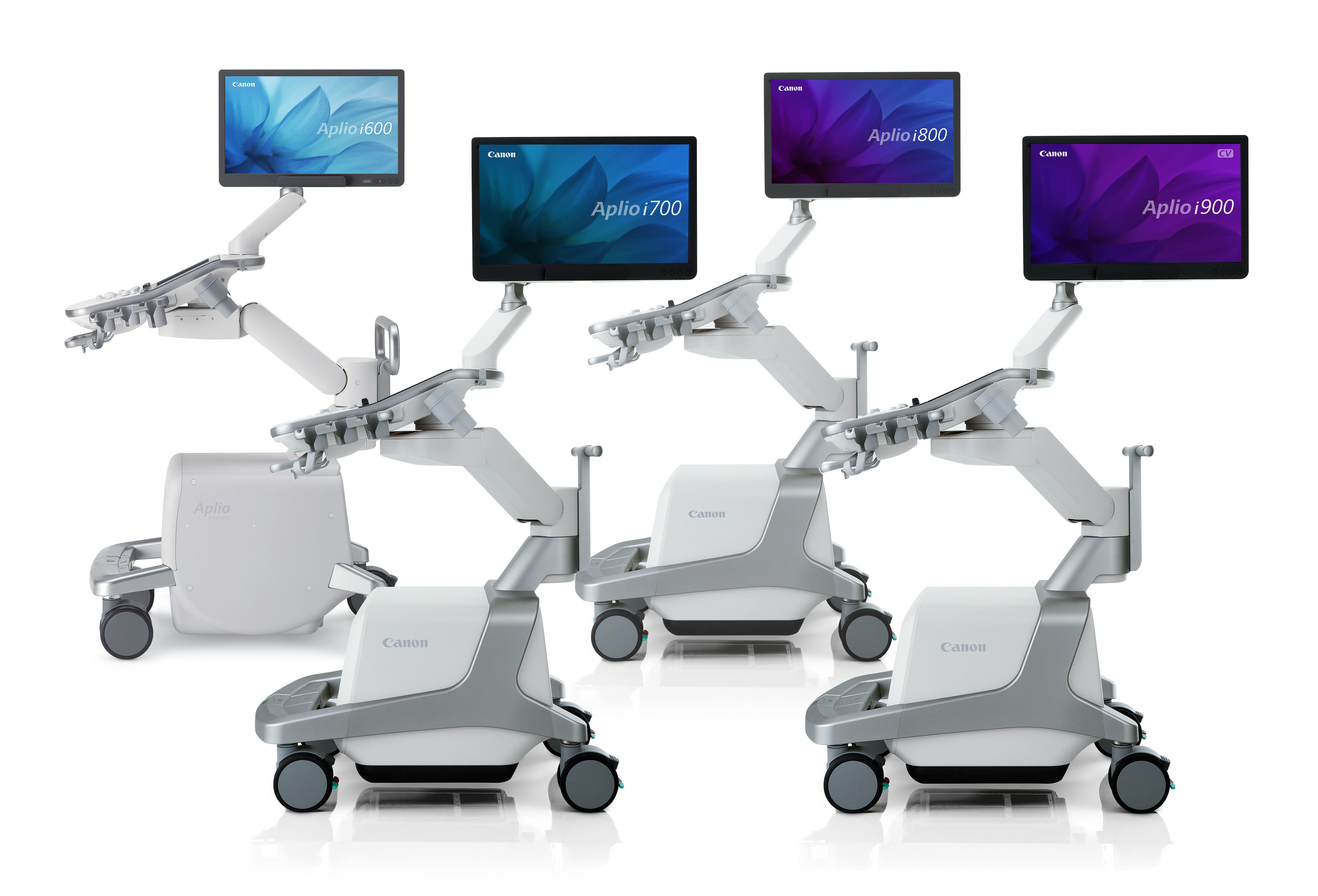This is the Canon Aplio series of ultrasound systems.