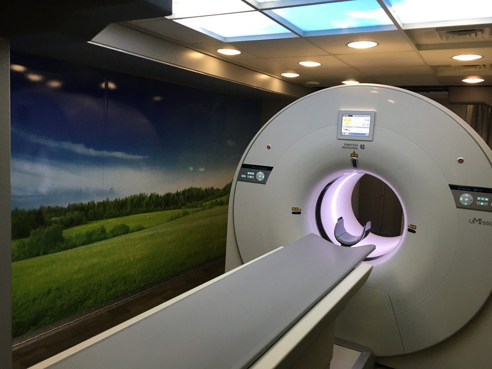 A United Imaging PET-CT system, which is one of the newly FDA cleared imaging systems from the Chinese company looking to break into the U.S. market.