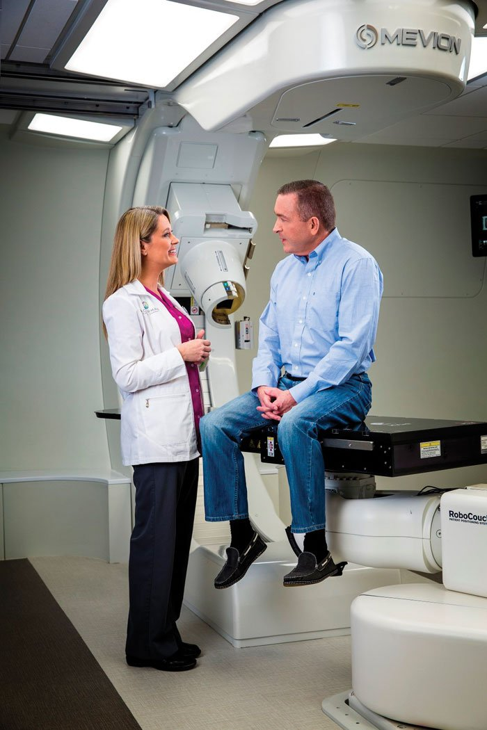 Mevion's proton therapy system.