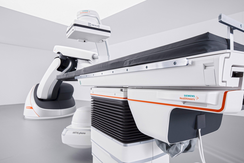 Siemens Artis pheno angiography system