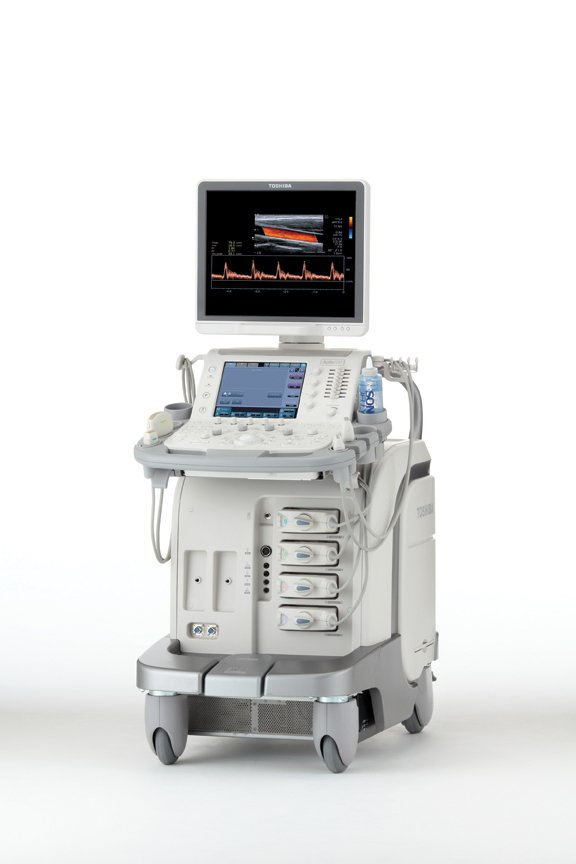 Emerging Trends in Ultrasound Imaging, Toshiba's Aplio 500