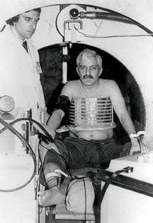 Raymond Damadian created the history-making first prototype MRI scanner