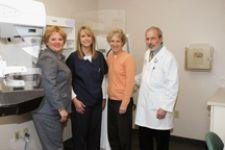 With the installation of the Hologic Selenia, the breast center shows its continuing
