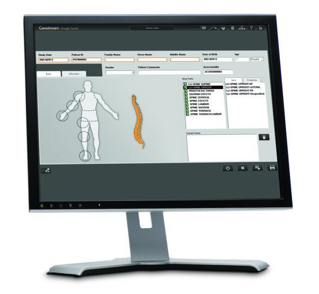 Carestream's Image Suite Software