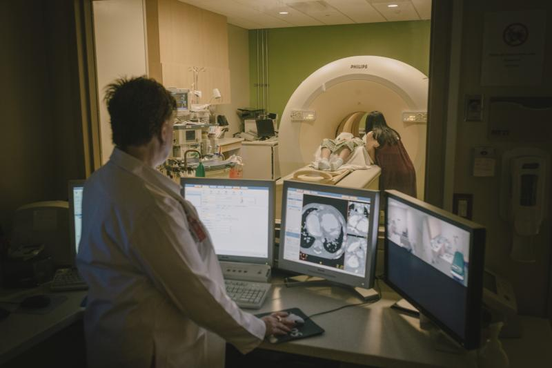 """The CT scanner might not come with protocols that are adequate for each hospital situation. We've designed our own protocols to do that, and we've shared those with Philips. So, they're out there in the world, freely available to Philips users,"" said Dianna Bardo, M.D., Director of Body MR and Co-Director of 3D Innovation Lab at Phoenix Children's"