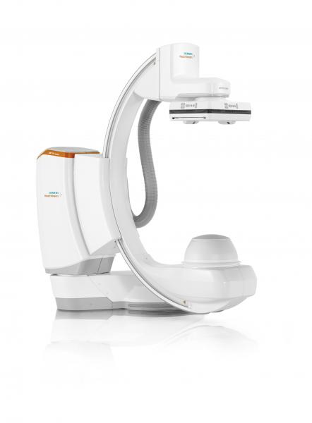 The Artis icono floor angiography system is a flexible, multi-axis option for a wide range of disciplines, particularly vascular, interventional cardiology, surgical and interventional oncology