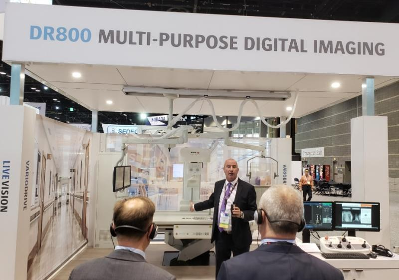 Returning to the exhibit floor in 2018 as an FDA-cleared product, the DR800 from Agfa Healthcare represented a collaborative effort between the vendor and a provider