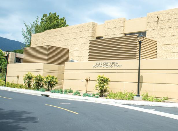 The Elsie and Robert Pierson Radiation Oncology Center is part of the City of Hope cancer treatment center.