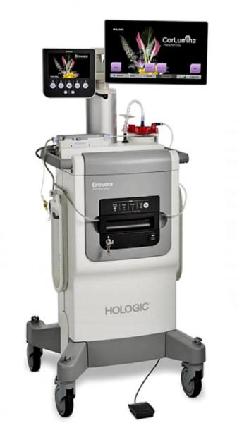 Hologic's new Brevera breast biopsy system allows real-time tissue sample collection and verification on one system