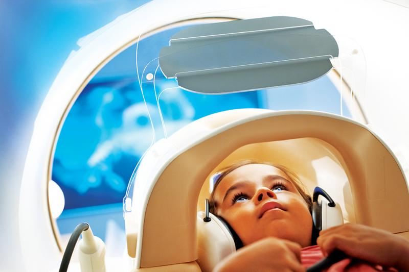 Using MRI to image pediatric patients allows for more detailed images and eliminated radiation dose. (Image courtesy of Philips Healthcare)