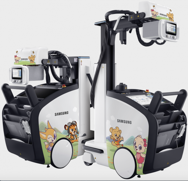 The ultra-compact, ultra light design of the Samsung AccE GM85 allows advanced mobility even in tight spaces.