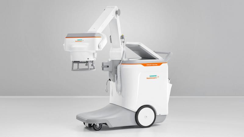 Siemens Healthineers earned FDA clearance in 2019 for the Mobilett Elara Max mobile X-ray system