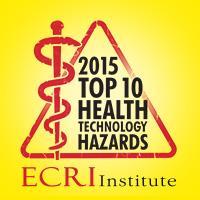 Top 10 hazard list, radiation dose management, ECRI Institute