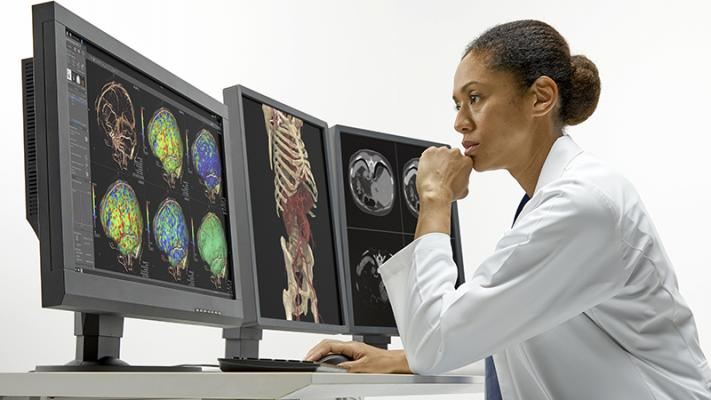 Canon Medical's Aquilion ONE / PRISM Edition, designed for deep intelligence, integrates artificial intelligence (AI) technology to maximize conventional and spectral computed tomography (CT) capabilities with automated workflows, while providing deep clinical insights to assist physicians in making more informed decisions across the patient's care cycle.