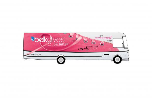 BelkGives On The Go Mobile Mammography Center