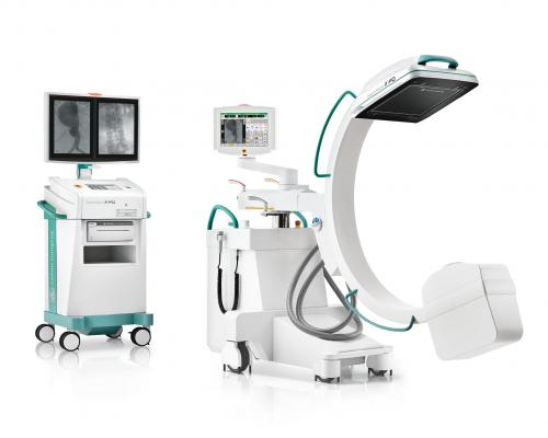 Ziehm Vision RFD C-arm, a surgical imaging system that provides a flat-panel detector for superb image quality. It supports the full spectrum of patients' needs and a broad range of applications.