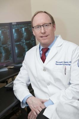 Christopher Comstock, M.D., ECOG-ACRIN Cancer Research Group study published in JAMA builds evidence for use of abbreviated MRI in women with dense breasts