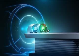 MRI Exablate neuro helmet from INSIGHTEC