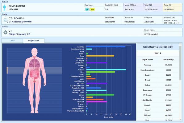 Infinitt Adds Organ Dose Data to Radiation Dose Management Solution
