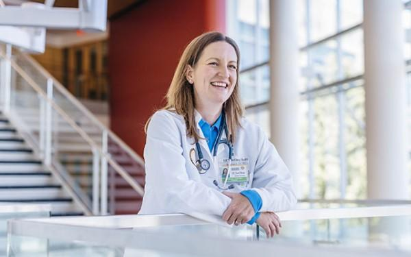 Kathryn A. Gold, M.D., associate clinical professor at University of California San Diego School of Medicine, presented data showing an increase in people diagnosed with advanced stage breast cancer in 2020 and 2021, compared to 2019.