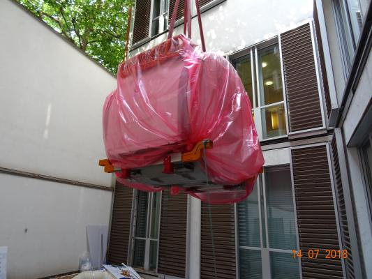 3T MRI Installed at The London Clinic Through Hospital Roof