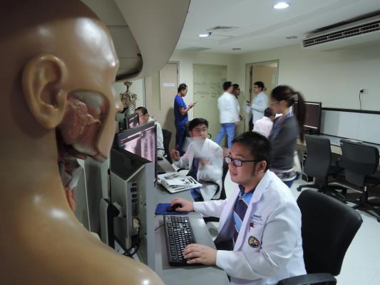 Radiologists at Makati Medical Center in Makati, Philippines, use Novarad software to read studies