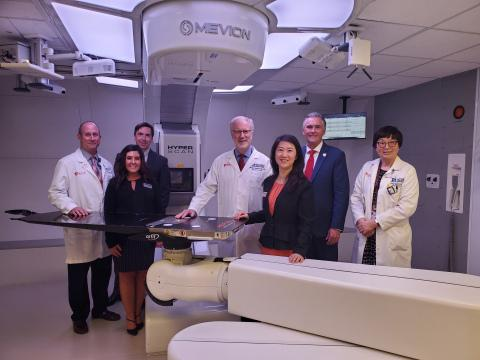 Mevion Medical Systems announced that the first proton center in the Mountain West, the Senator Orrin G. Hatch Center for Proton Therapy, has opened at Huntsman Cancer Institute (HCI) at the University of Utah (U of U) and began treating patients on May 11with the MEVION S250i Proton Therapy System.