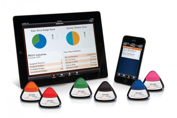 Mirion Showcases Instadose2 Wireless Dual Detector Dosimeter at AAPM and AHRA