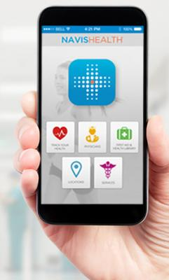 NavisHealth, Engage, Salina Regional Health Center, mobile, patient, app