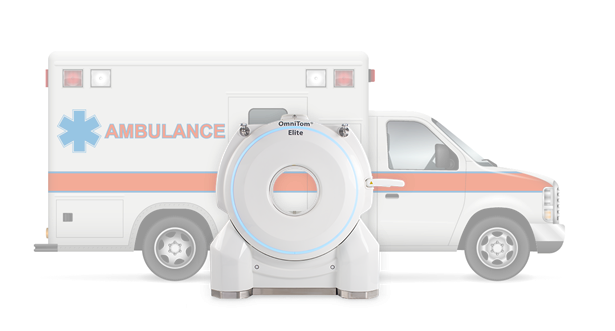 Neurologica Mobile Stroke Unit includes new CT scanner and features that help EMTs improve patient care
