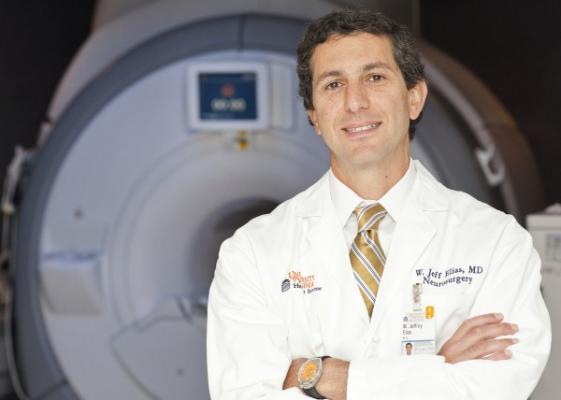 Jeff Elias, MD, is a neurosurgeon at UVA Health and a pioneer in the field of focused ultrasound.