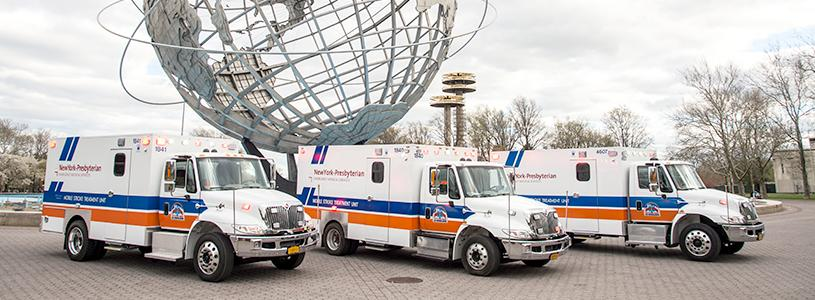 NewYork-Presbyterian Expands Mobile Stroke Treatment Unit Fleet