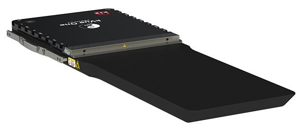 Qfix kVue One Proton Couch Top Validated by Mevion Medical Systems