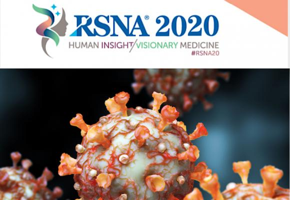 The Radiological Society of North America (RSNA) announced today that its 106thScientific Assembly and Annual Meeting, previously scheduled to be held Nov. 29 – Dec. 4, 2020, at McCormick Place in Chicago, will be held as an all-virtual event Nov. 29 – Dec. 5.