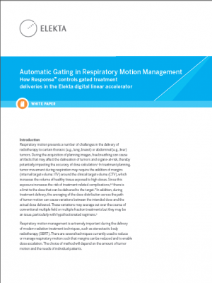 White Paper: Automatic Gating in Respiratory Motion Management