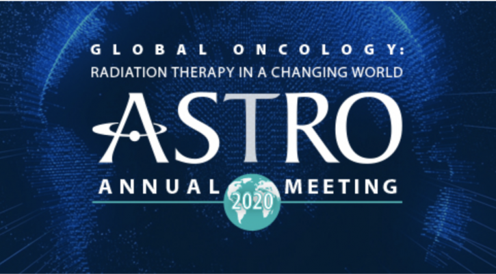 Be sure to registerfor the American Society for Radiation Oncology's (ASTRO) 62nd Annual Meeting, to be held October 24-28, 2020, via an interactive virtual platform. The meeting,Global Oncology: Radiation Therapy in a Changing World, will feature reports from the latest clinical trials; panels on global oncology, health disparities and the novel coronavirus; and an immersive attendee experience in a virtual convention center.