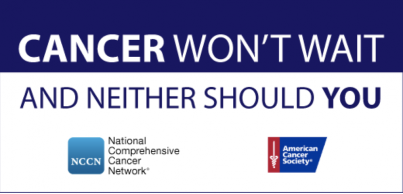 The National Comprehensive Cancer Network® (NCCN®) and the American Cancer Society (ACS) are teaming up with leading health organizations across the country to endorse the safe resumption of cancer screening and treatment during the ongoing COVID-19 pandemic.