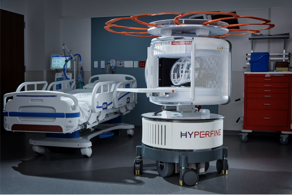 As the world's first FDA-cleared bedside MRI system, Hyperfine's portable Swoop system is designed to allow physicians to rapidly understand the current state of injury to make life-saving decisions.