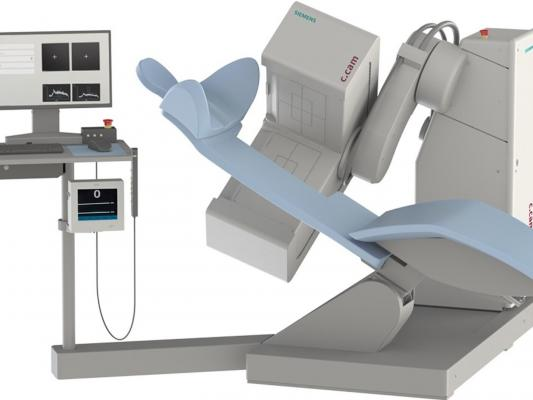 Siemens Healthineers has introduced a new version of its c.cam dedicated cardiac nuclear medicine system to the U.S. market. This single-photon emission computed tomography (SPECT) scanner with a reclining patient chair offers nuclear cardiology providers a low total cost of ownership, ease of installation, and a high level of image quality.