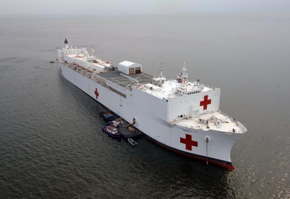 U.S. Navy, USNS Mercy, Carestream PACS