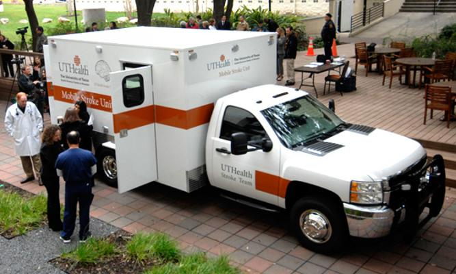 Mobile Stroke Unit Gets Patients Quicker Treatment Than Traditional Ambulance