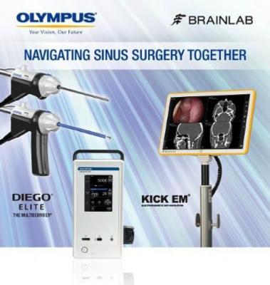 Olympus Brainlab Partner Exclusive Distributor ENT Products in U.S. Market