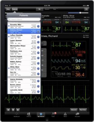 AirStrip ONE, Life Monitor, Australia, New Zealand, Sense4Baby, mobile