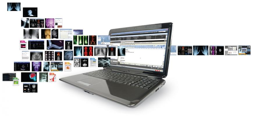 Carestream, Clinical Collaboration Platform, HIMSS 2014, VNA, remote viewing