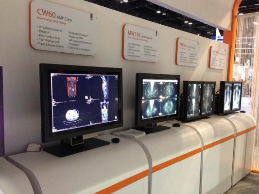 Double Black Imaging Wide Corporation LED Displays RSNA 2012 Mobile App