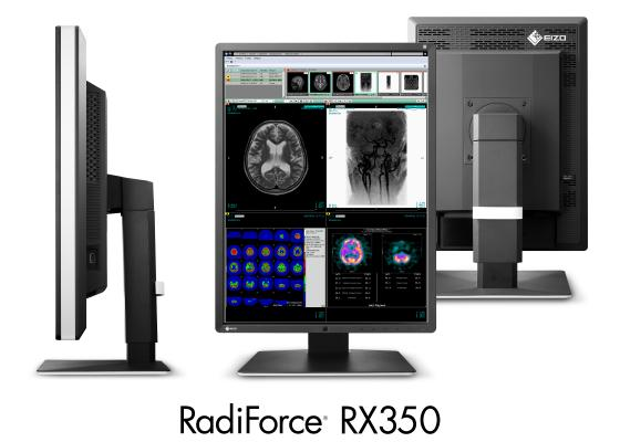 Eizo, RadiForce RX350, Sharpness Recovery technology, 3-megapixel monitor, RSNA 2015